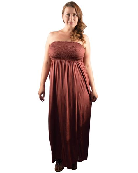 s plus size clothing 2x 3x strapless length