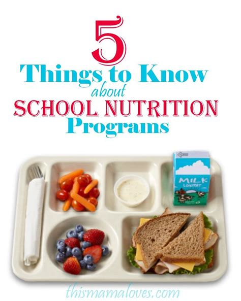 Detox School Lunches by 25 Great Ideas About Nutrition Program On