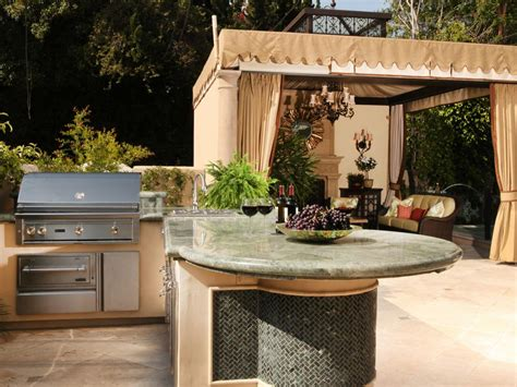 outdoor kitchen idea cheap outdoor kitchen ideas hgtv