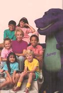 barney backyard gang cast barney the backyard gang barney wiki