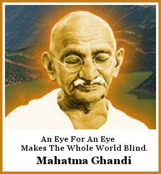 mahatma gandhi biography nobel prize quote of the day two for one everything matters