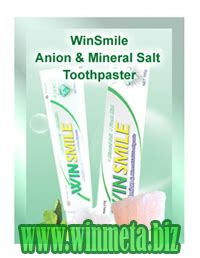 Pasta Gigi Smile On winsmile anion mineral toothpaste