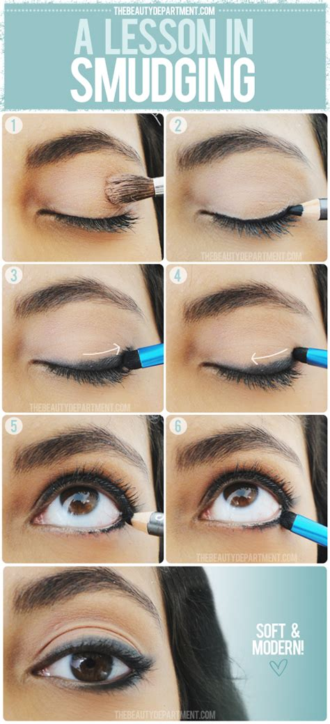Smudge Eyeliner Tutorial | the beauty department your daily dose of pretty soften up