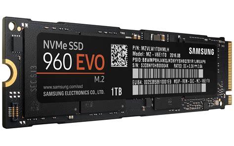 samsung 960 evo samsung ssd 960 pro und 960 evo neue nvme m 2 ssds vorgestellt notebookcheck news