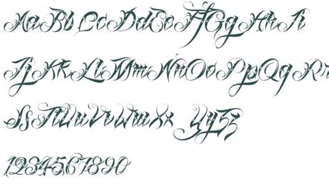 tattoo fonts x calligraphy tattoo fonts fancy script fonts