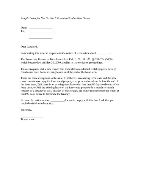 Exle Introduction Letter To Potential Landlord transfer letter to landlord 28 images 15 landlord