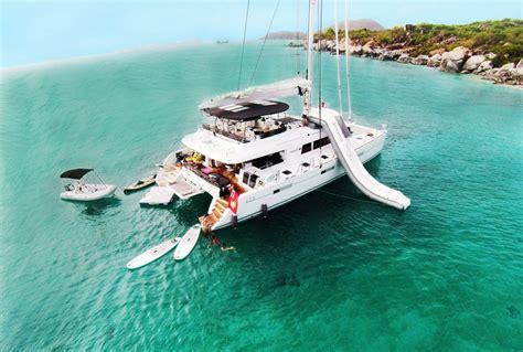 bvi catamaran charter with crew us virgin islands yacht charter carefree yacht charters 174