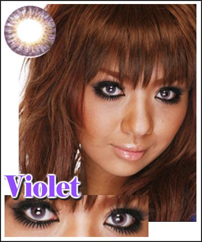 geo tricolor contact lens