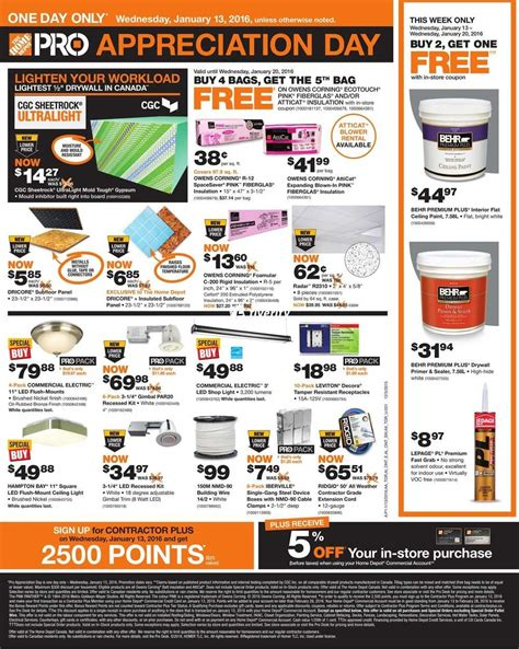 home depot commercial account