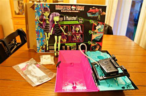 monster high doll design lab girl s gift ideas mattel monster high create a monster