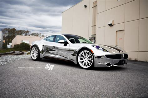 Verchromtes Auto by Chrome Fisker Karma By Sr Auto