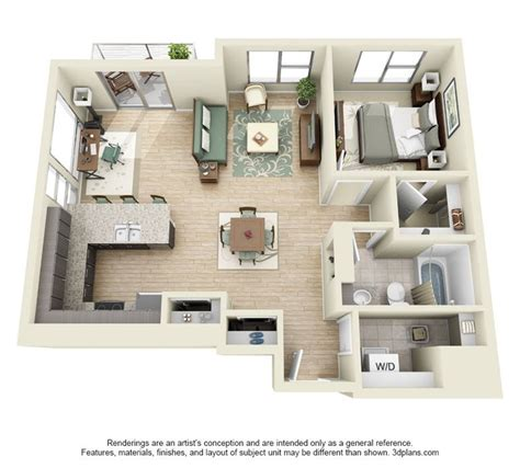 floor bedroom apartments  denver northfortycreative houses en  pinterest planos