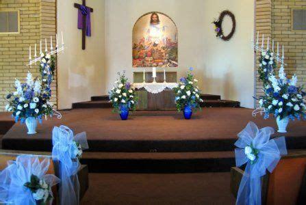 diy pew decorating ideas church wedding decorations jpg