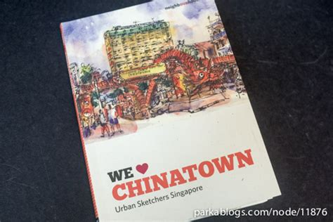 chinatown books we chinatown neighbourhood series sketchbook