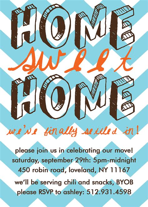 printable house party invitations home sweet home housewarming party invitation print your own