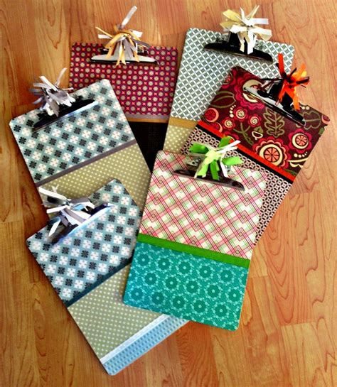 Decoupage Clipboards Craft Ideas Clipboards