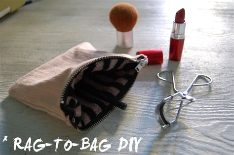 Make Up Bag With A Social Conscience by At Least Rag To Bag Diy