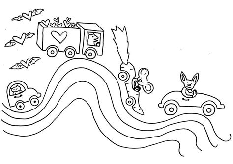 rainbow road coloring page rainbow care bears coloring pages coloring pages for
