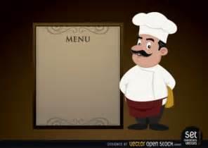 elegante men 250 con el cocinero de la historieta descargar