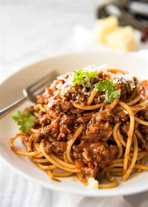 best spag bol recipe spaghetti bolognese recipetin eats