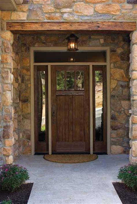 american front doors craftsman lite 2 panel flush glazed 3 lite classic craft