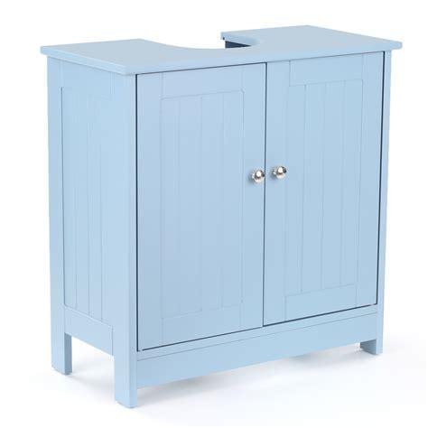 sink door storage ikayaa 2 layer modern sink storage cabinet with doors