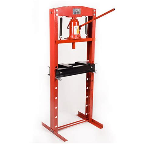 bench shop press 20 ton heavy duty industrial hydraulic workshop garage standing bench shop press ebay