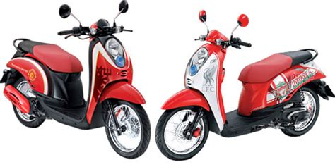 Sticker Scoopy Striping Liverpool scoopy limited edition united dan liverpool spesifikasi dan modifikasi motor