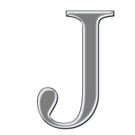 j a capital letter j