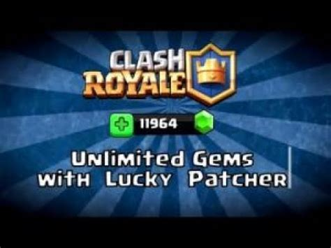 tutorial hack lucky patcher how to hack clash royale using gem hack guide lucky