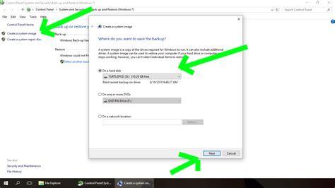 windows image backup how to backup windows 10 shellcreeper
