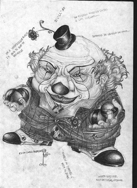 imagenes para dibujar a lapiz de payasos dibujos de payasos asesinos a lapiz imagui