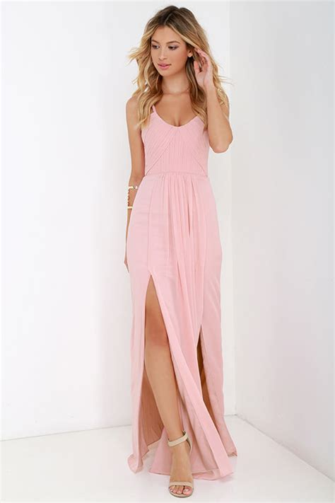bariano dress maxi dress blush pink gown 295 00