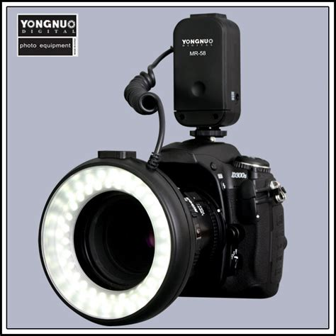 Macro Ring Light by Yongnuo Mr 58 Macro Led Macro Ring Flash Light For Canon