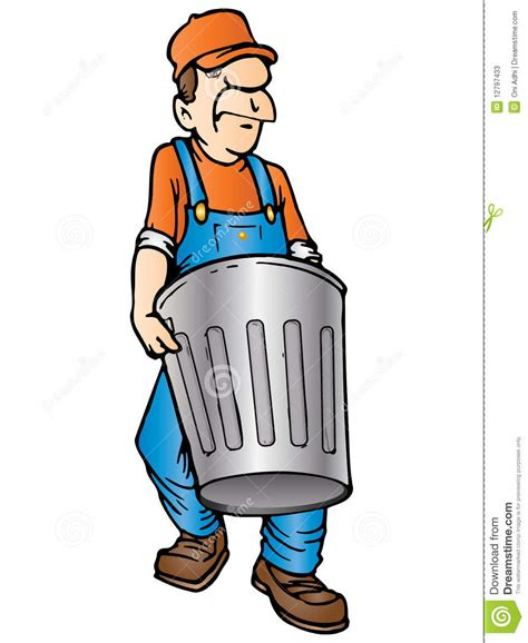 Toss Takes Out On Your Superiors by Throw Garbage Stock Illustration Image Of Green