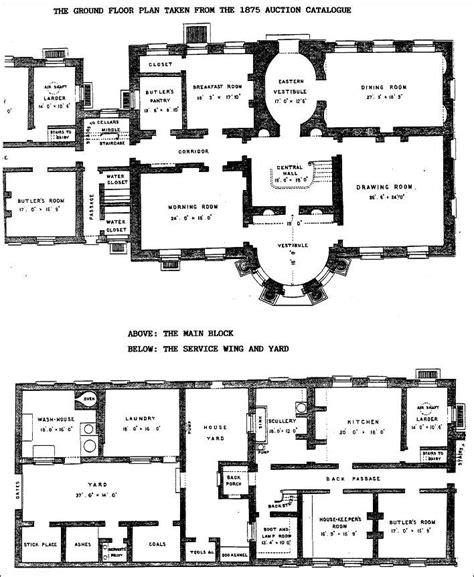the floor plan the ground floor plan of the mount