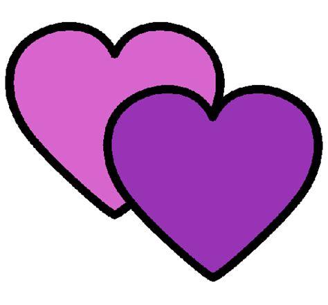 imagenes de corazones de video juegos dibujo de corazones pintado por giselita en dibujos net el