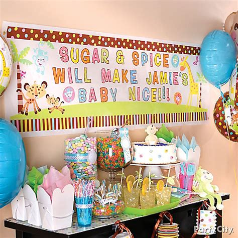 city baby shower themes personalized baby shower banner idea city