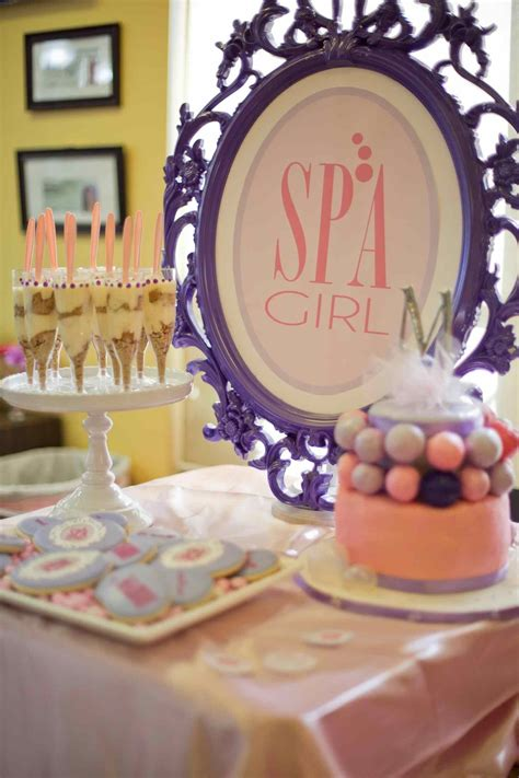 spa ideas for adults birthday decorations