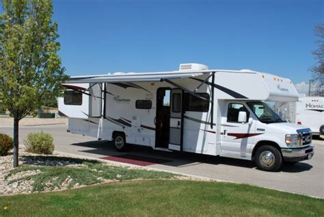 rv motorhome for rent with styles in ireland