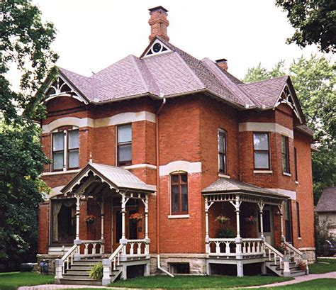Queen Anne House Plans Historic Dave S Victorian House Site Illinois Gallery