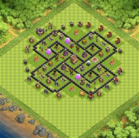 bases coc la familia clan view image les 25 meilleures id 233 es concernant clash of clans base sur
