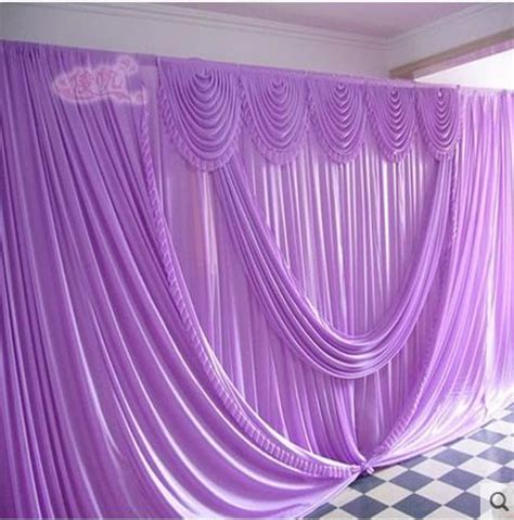 stage drapes and backdrops romantic purple 10ft 20ft wedding stage decoration wedding