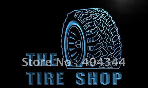 Day Repair By Green Shop lm121 tire shop car auto repair led neon light sign