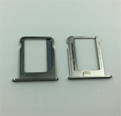 Sim Card Tray Slot Iphone 4 4g 4s 4 Cdma 100 pcs lot micro sim card tray holder slot replacement