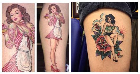 tatuajes de chicas pin up fotos ideas y dise 241 os de