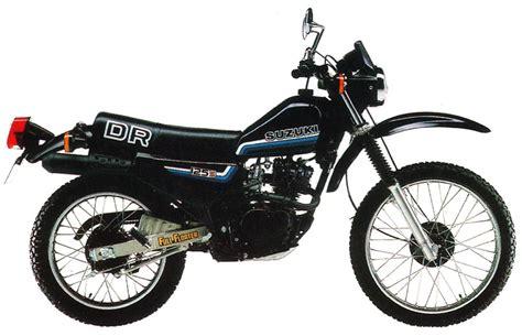 Suzuki Dr125 Suzuki Dr125s Model History