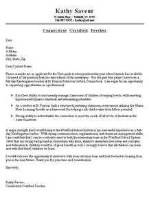 Cover Letter For A Resume Exles by Sle Resume Cover Letter For