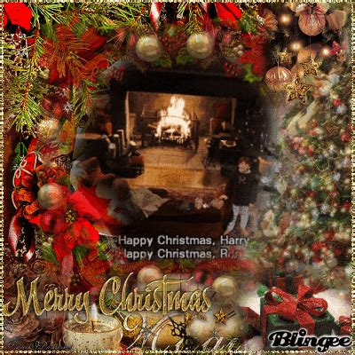 harry potter  ron weasley happy christmas picture  blingeecom