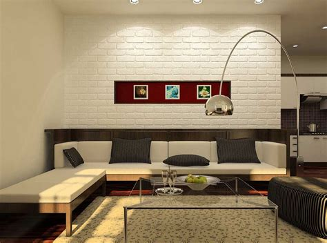 white brick accent wall interior design ideas black and white brick wall for artistic and astonishing
